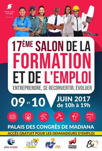 Affiche du salon de la Formation et de l'Emploi 2017