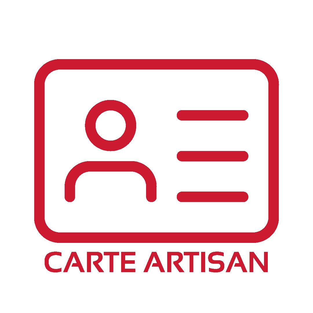Carte artisan
