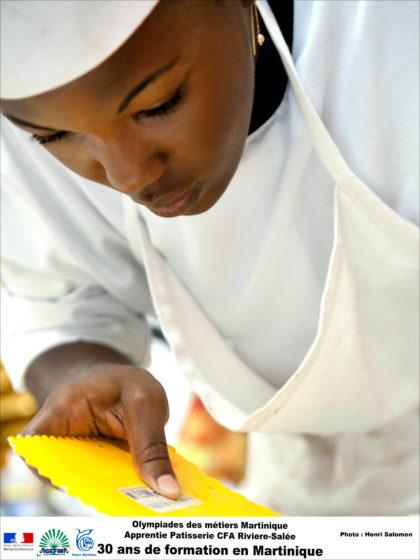 CMA Martinique 2012 cfa olympiades apprenti femme patisserie chef 03 2012 41