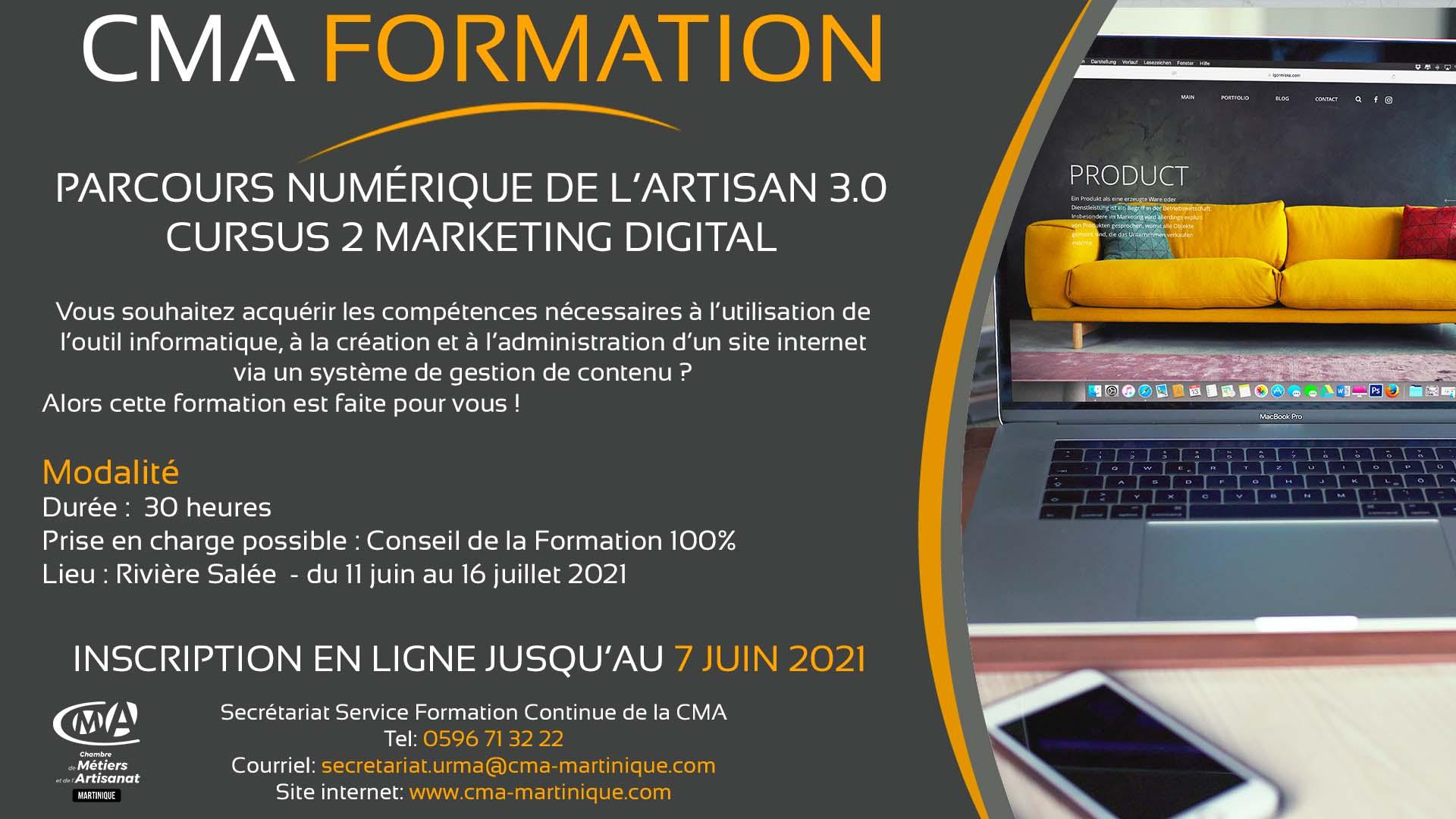 CMA Martinique digital marketing v2