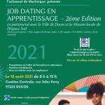 CMA Martinique Invitation Job dating en apprentissage 18082021